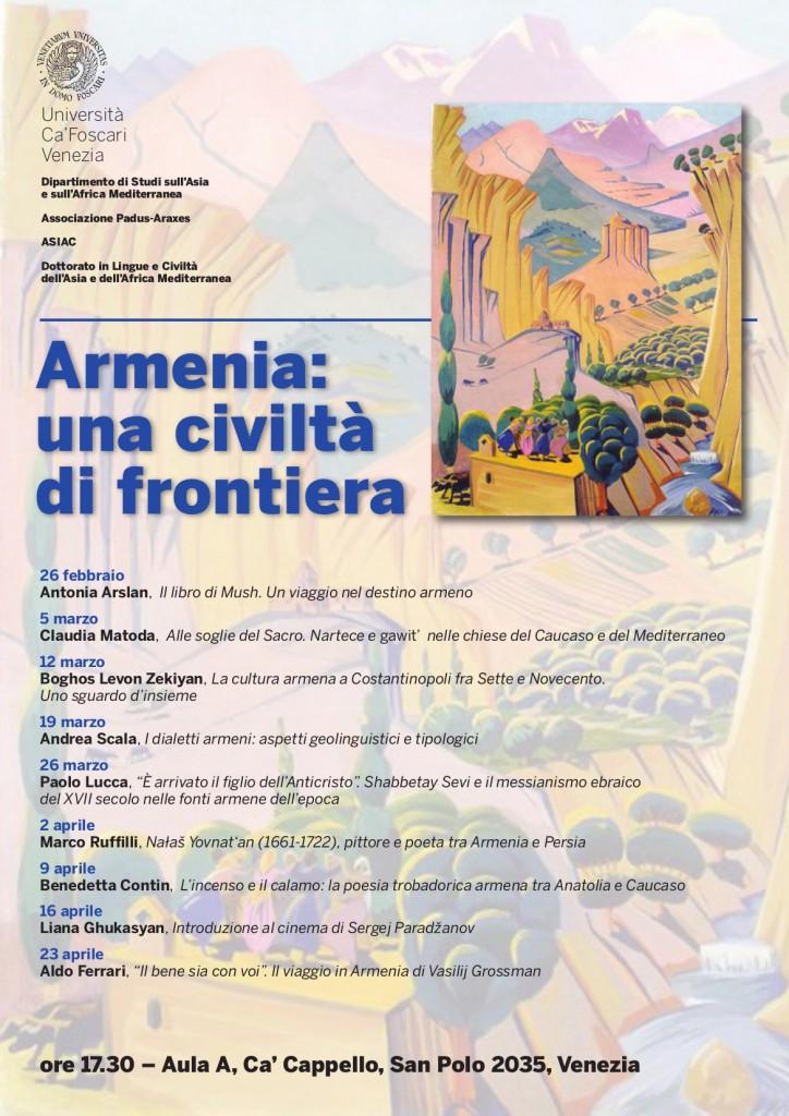 Armenia civiltà di frontiera 02-2013